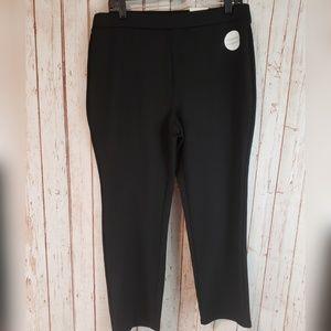 Croft & Barrow NWT black slim straight leggings